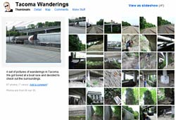 Tacoma Wanderings flickr set