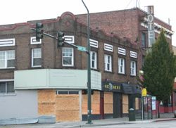Boarded windows 24th and Pacific