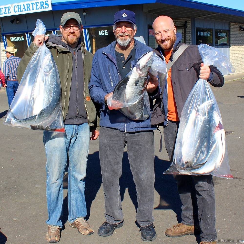 Fishing charter off long beach wa with dad joseph for Ilwaco wa fishing charters