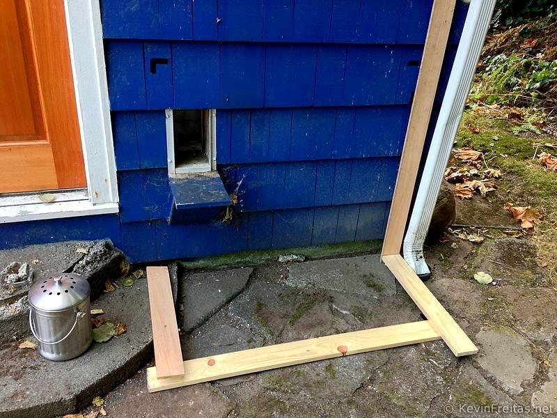 Outdoor Cat Enclosure Project - KevinFreitas net