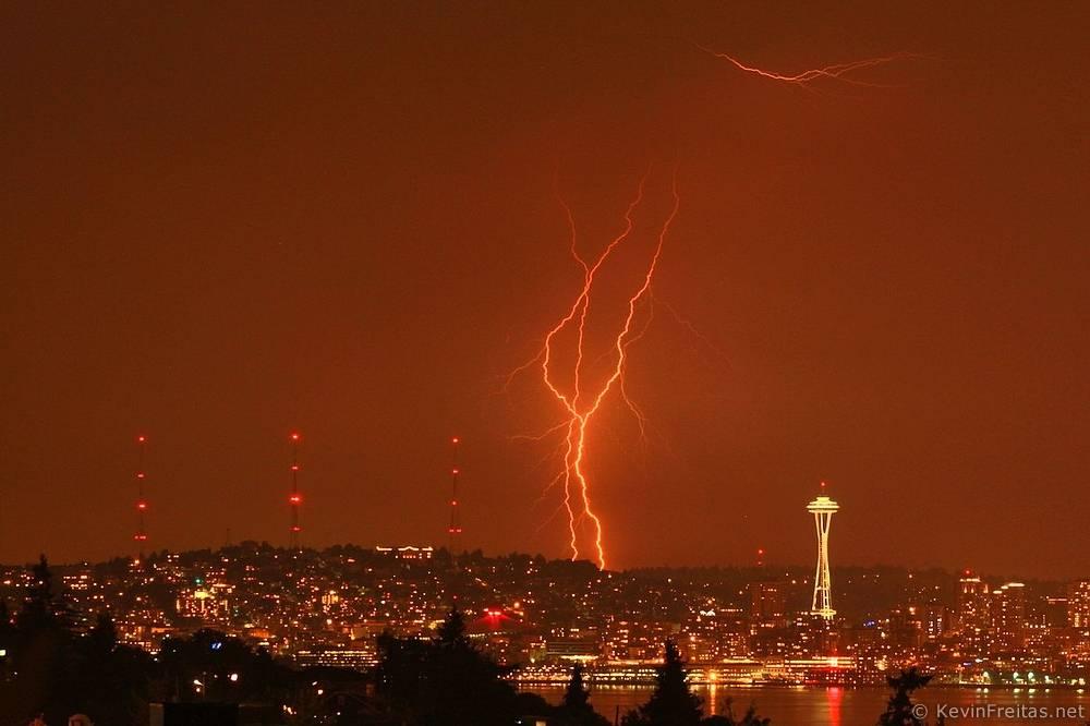 My Blog Verwandt Mit Lightning: Rare Summer Evening Lightning