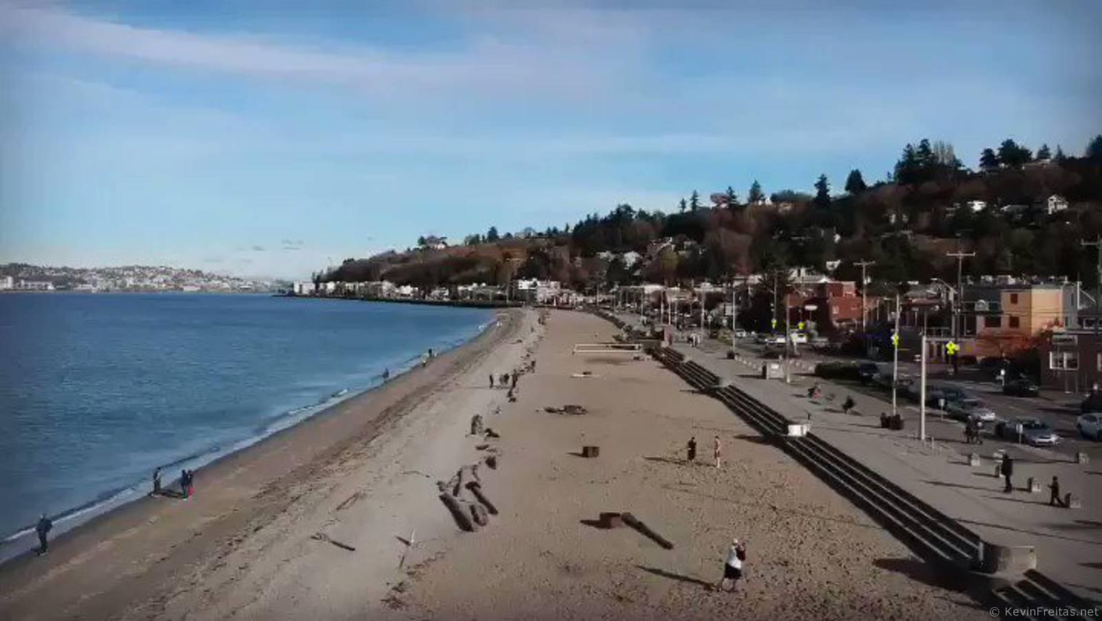 Alki Beach Seattle Wa